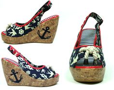 Sailor Wedge By Too Fast Clothing