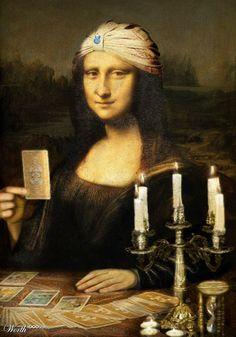 Mona the fortune teller