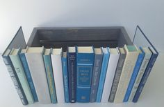 Book Box Hidden Jewelry Secret Fake Faux Vintage Yellow Floral