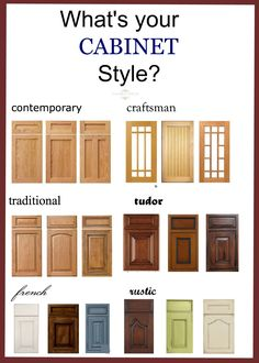 Delicieux Bathroom + Kitchen Cabinet Door Styles
