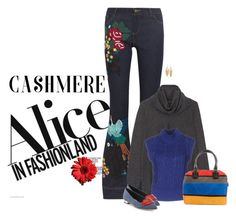 """""""Alice & Olivia"""" by sherry7411 ❤ liked on Polyvore featuring Alice + Olivia and Kenneth Jay Lane"""
