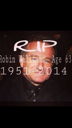Q.D.E.P. Robin Williams 63 Años