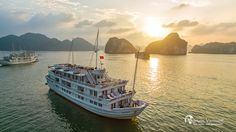 Enjoy your dream vacation with Halong Bay Paradise Luxury Cruises! You have four different options: Paradise Luxury I, II, III and IV. With accommodation of 68 lavish and incredibly designed cabins and suites
