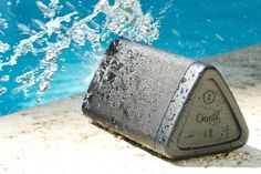 A portable wireless bluetooth speaker that drops the bass so you don't (fish puns! A portable wireless bluetooth speaker that drops the bass so you don't (fish puns! Best Outdoor Bluetooth Speakers, Waterproof Bluetooth Speaker, Wireless Speakers, Bluetooth Gadgets, Tech Gadgets, Sound Words, Gifts For Dad, Cool Stuff, Interesting Stuff