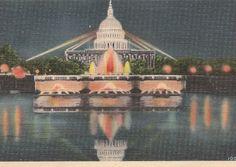 US Capitol Reflection Pool Washington DC by VintagePackRat on Etsy