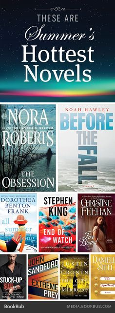 Looking for your next book? Check out 18 of summer 2016's hottest novels.