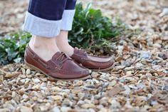 JULIE BROWN #deckshoes #loafer #chatham
