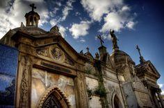 Cementerio de la Recoleta, Buenos Aires . ..stie of Eve Peron