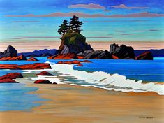 Nicholas Bott, artist, original oil paintings at White Rock Gallery Abstract Watercolor, Abstract Landscape, Landscape Paintings, Oil Paintings, Landscape Design, Canadian Painters, Canadian Artists, Oil Painting Pictures, Pictures To Paint