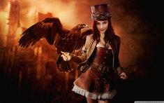 Image result for steampunk girl