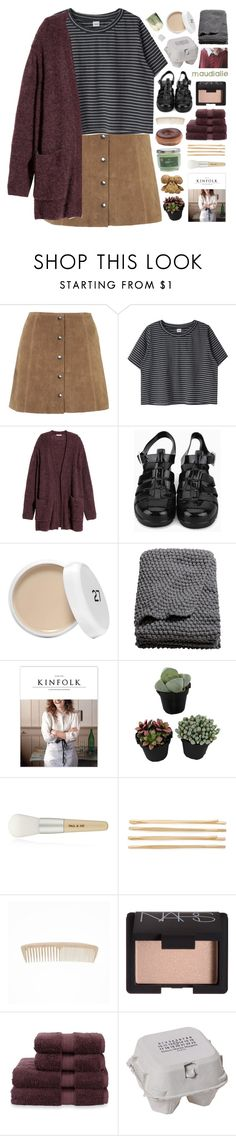 """""""i like to let excess succeed"""" by kristen-gregory-sexy-sports-babe ❤ liked on Polyvore featuring Topshop, H&M, Paul & Joe, Cara, NARS Cosmetics, Christy, Maison Margiela, maudialle and melsunicorns"""