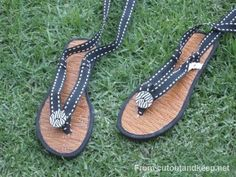 DIY Crafts : DIY make sandals using slippers