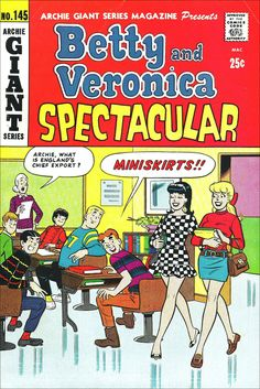 Betty and Veronica Spectacular — June 1967 Comic Book
