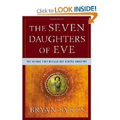 The Seven Daughters of Eve. The best non fiction book I have ever read.