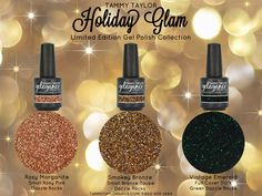 Introducing the Holiday Glam Dazzle Rocks Gel Polish Collection!