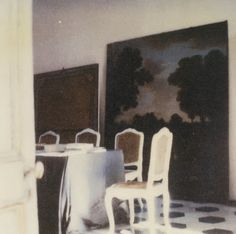 Cy Twombly's Photographs of Interiors: 1951-2007