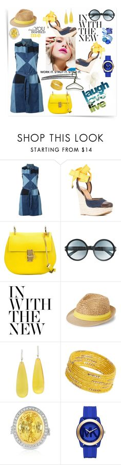 """In with the new-shirtdress"" by zabead ❤ liked on Polyvore featuring See by Chloé, Diesel, Dsquared2, Chloé, Tom Ford, Chanel, Steve Madden, Dorothy Perkins, Blue Nile and Michael Kors"
