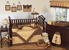 A chocolate brown combo baby bedding set will create a nursery that is beautiful, trendy and modern. Description from bedroomdecortips.com. I searched for this on bing.com/images