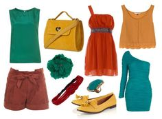 FALL 2011- Jade, Mustard, and Rust Hues