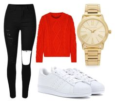 """""""Style"""" by thanna-mongkhondi on Polyvore featuring MM6 Maison Margiela, adidas, Michael Kors, women's clothing, women, female, woman, misses and juniors"""