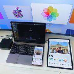 iCloud & Airdrop make things just a little bit eas… Macbook Pro Decal, Macbook Pro Skin, Macbook Air 13 Case, Macbook Stickers, Schul Survival Kits, Computer Desk Setup, Web Mobile, Ipad Pro, Mac Mini