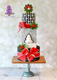 The Violet Cake Shop Christmas Cake