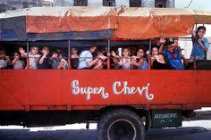 Cuban kids. What a shame. Transportation