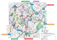 Tourist map of Vienna attractions, sightseeing, museums, sites, sights, monuments and landmarks http://viennamap360.com/vienna-tourist-map#.WIrpYN0izv8