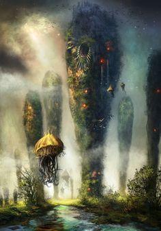 The Towers of KEILAH by FerdinandLadera