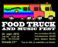 Food Truck & Music Fest 2015 #sondeaquipr #foodtruckmusicfest #guaynabo #coliseomarioquijotemorales #foodtruckpr #gastronomiapr