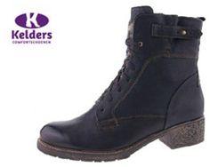 Durea 9561.905.6176 Bruin belfast zwart kalf damesschoenen in wijdte H online bestellen?_1
