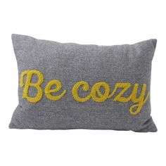 Found it at Joss & Main - Be Cozy Pillow