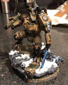 Tau Warhammer, Warhammer Paint, Warhammer Models, Tau Battlesuit, Tau Army, Mecha Suit, Tau Empire, Tyranids, Warhammer 40k Miniatures