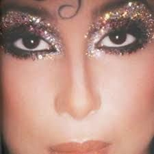Cher makeup 1970s disco glam