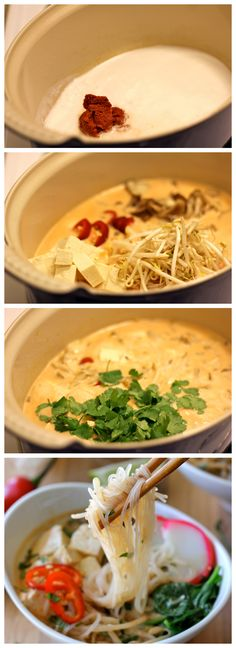 Thai Red Curry Soup - This quick and easy soup is the perfect kind of comfort food on a cold winter night!