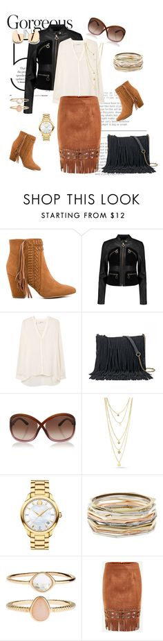 """""""Untitled #156"""" by aazraa ❤ liked on Polyvore featuring Rebecca Minkoff, MICHAEL Michael Kors, MANGO, SONOMA Goods for Life, Tom Ford, Movado, Kendra Scott and Accessorize"""