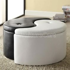 Found It At Wayfair Ying Yang Storage Ottoman Man Cave In 2019