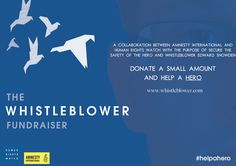 Skoleoppgave: Innsamlingsaksjon for Amnesty og Human Rights Watch til varsleren Edward Snowden.