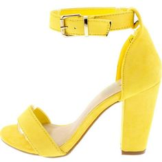 Color: Yellow Material: Suede Sole: Single Sole Insole: Lightly padded for comfort U.S. Sizes