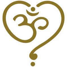 Om Heart, Spirituality, Buddha, Yoga, Goa, Symbol, Tee shirts - T-shirt Premium Femme