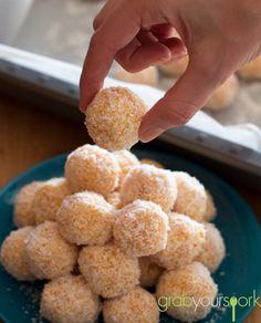 3 Ingredient Apricot Balls