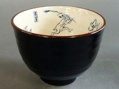 鳥獣戯画小丼(紺) - 美濃焼き卸・販売 陶器のまる忠 美濃焼きの里、岐阜県多治見市で業務用、家庭用の陶器の販売をしております「陶器のまる忠」です。取り扱い総合カタログ「陶里」「陶雅」「まごころ」「器蔵」「みやびの器」「うつわ」「ときわ」「陶街道」「器望」「き&