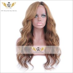 Find More Human Wigs Information about 5A 150 Density Full Lace Ombre Wigs Brazilian Virgin Human Hair Blonde…
