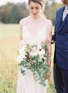 Elegant Outdoor New York Wedding via oncewed.com