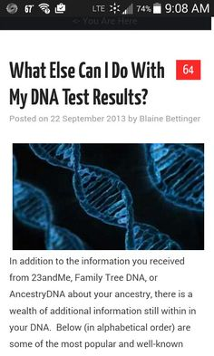 Mother load of information on researching your genetic raw data. Genealogy Chart, Ancestry Dna, Genealogy Research, Family Genealogy, Dna Test Results, Family Genes, Dna Research, Family Tree Maker, Genetics Traits