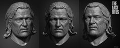 http://www.zbrushcentral.com/showthread.php?178789-The-Last-of-Us-Character-Sculpts-(-images-Pg-8)