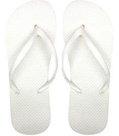 White Flip Flops  buy a lot of things http://www.buyalotofthings.com/wholesale-ladies-solid-white-flip-flops.html