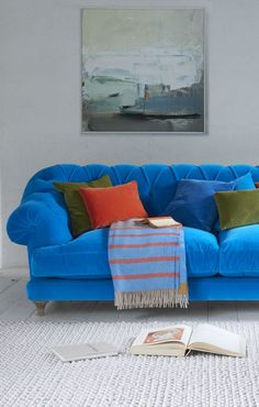 """""""Bagsie one of these!"""" we all cried when we made the first one. Our very own version of the classic chesterfield, this deep-buttoned beauty is one sumptuous sofa."""