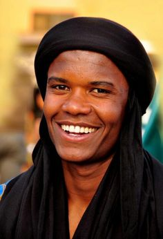Tuareg Man from the Southern Morrocan dessert.