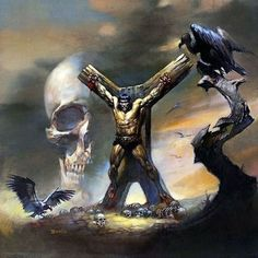 Boris Vallejo is 77 Today - Album on Imgur